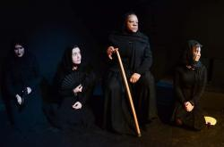 """A still from the Epic Theatre Company's production of """"The House of Bernarda Alba."""""""