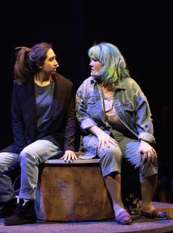 Krystal Hernandez and Johanna Carlisle-Zepeda. Photo: Evgenia Eliseeva