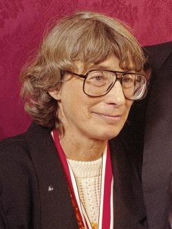 "Mary Oliver appears at the National Book Awards in New York where she received the poetry award for her book ""New and Selected Poems"" in 1992."
