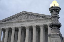 The Supreme Court is seen in Washington.