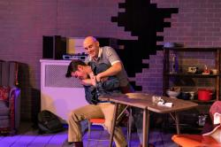 "Brooks Shatraw and James Lucey in ""This Is Our Youth,"" at the Burbage Theatre Company through February 24."