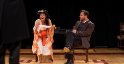 """Vaishnavi Sharma and Eric Tucker in """"Bedlam's Pygmalion"""" at the Central Square Theater through March 3."""