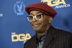 Spike Lee arrives at the 71st annual DGA Awards at the Ray Dolby Ballroom.