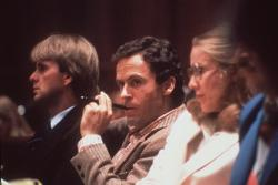 This 1979 file photo shows Ted Bundy, convicted murderer, in a Miami courtroom. (AP Photo)