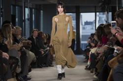 Proenza Schouler collection is modeled during New York Fashion Week.