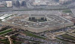 This March 27, 2008, file aerial photo shows the Pentagon in Washington