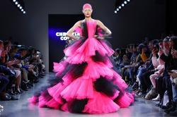 Christian Cowan collection at New York Fashion Week.