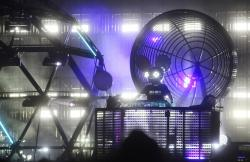 Deadmau5 performs during the Austin City Limits Music Festival in Zilker Park in Austin, Texas.
