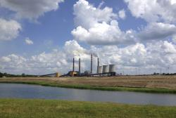 This June 3, 2014, file photo shows a panoramic view of the Paradise Fossil Plant in Drakesboro Ky.
