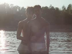 "A scene from Robyn's music video for ""Send to Robin Immediately."""
