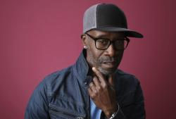 """In this Jan. 31, 2019, file photo Don Cheadle, a cast member in the Showtime series """"Black Monday,"""" poses for a portrait during the 2019 Winter Television Critics Association Press Tour in Pasadena, Calif."""