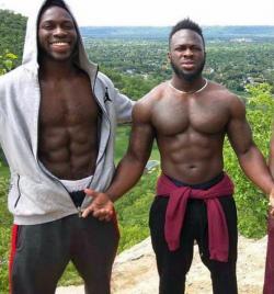 bimbola 'Abel' (left), and Olabinjo 'Ola' Osundairo (right)