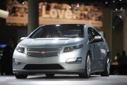This Dec. 2, 2009 file picture shows the 2011 Chevrolet Volt