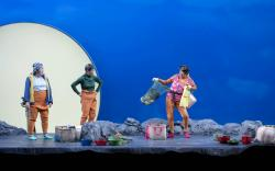 """A scene from """"Endlings"""" at the American Repertory Theater through March 17."""