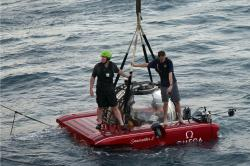 Researchers conducted the first sea tests of a submersible crucial to the British-based Nekton Mission which will explore the Indian Ocean during a seven-week long science expedition.