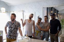 "From left to right: Bobby Berk, Jonathan Van Ness, Tan France, Antoni Porowski and Karamo Brown in ""Queer Eye."""