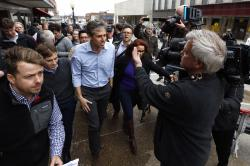In this March 14, 2019, photo, former Texas congressman Beto O'Rourke