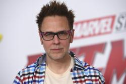 """This June 25, 2018 file photo shows James Gunn at the premiere of """"Ant-Man and the Wasp"""" in Los Angeles."""