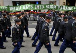 New York's St. Patrick's Day Parade, 2015.