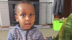In this undated photo supplied by Abdi Ibrahim, shows a photo of his three-year-old brother, Mucaad, who is the youngest known victim of the mass shooting in Christchurch, New Zealand on Friday, March 15, 2019