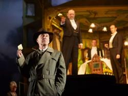 """Liam Brennan and cast members in """"An Inspector Calls"""""""