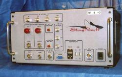 This undated file photo provided by the U.S. Patent and Trademark Office shows the StingRay II, a cellular site simulator used for surveillance purposes manufactured by Harris Corporation, of Melbourne, Fla.