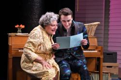 "Anne Scurria and Charlie Thurston in ""The Song of Summer"" at the Trinity Rep through April 14."