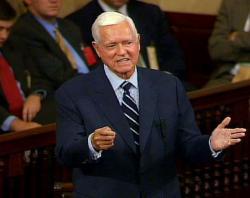Ex-US Sen Ernest 'Fritz' Hollings