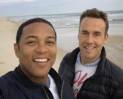 Don Lemon, left and Tim Malone, right.
