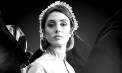 """A promotional photo for the Boston Lyric Opera's upcoming production of """"The Handmaid's Tale."""""""