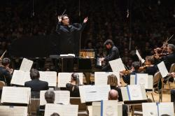 Ken-David Masur conducts the Ravel Piano Concerto, featuring pianist Sergio Tiempo on April 11, 2019.