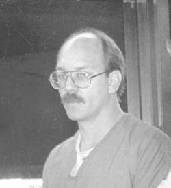 In this photo from the 1990s, South Dakota death row inmate Charles Russell Rhines in Rapid City, S.D.