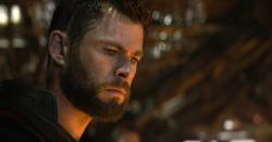 """Chris Hemsworth in a scene from """"Avengers: Endgame."""