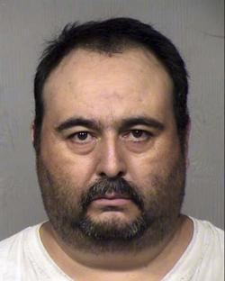 This April 2019 mugshot provided by the Maricopa County Sheriff's Office in Phoenix shows Jorge Murrieta