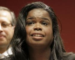 In this Dec. 2, 2015, file photo, Kim Foxx, then a candidate for Cook County state's attorney, speaks at a news conference in Chicago