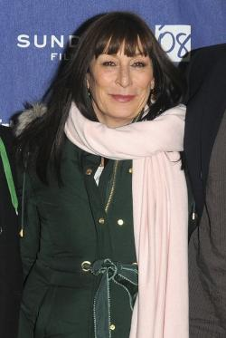 "In this Jan. 21, 2008 photo, actress Angelica Houston arrives at the premiere of ""Choke"" during the Sundance Film Festival in Park City, Utah"