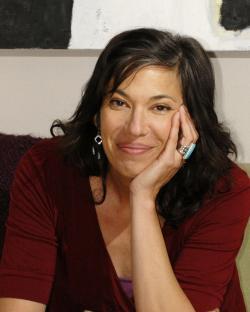 Playwright/actor Melinda Lopez