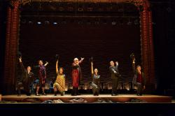 "The cast of ""Indecent"" at the Huntington Theatre Company through May 25."