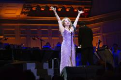Bernadette Peters appearing with the Boston Pops on Wednesday, May 9 at Boston's Symphony Hall.