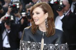 Julianne Moore poses for photographers at the 72nd international film festival, Cannes, southern France, Wednesday, May 15, 2019. (Photo by Joel C Ryan/Invision/AP)