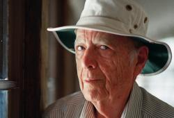 This May 15, 2000, file photo, shows Pulitzer Prize-winning author Herman Wouk in Palm Springs, Calif.