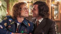 "Taron Egerton and Richard Madden in ""Rocketman."""