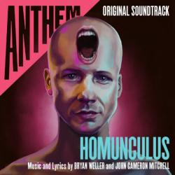 The cover to Anthem: Homunculus by Bryan Weller and John Cameron Mitchell