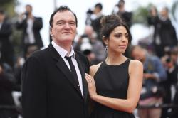 Film director Quentin Tarantino and his wife Daniela Pick
