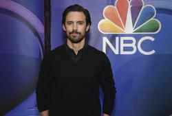 "Milo Ventimiglia, from the cast of ""This Is Us,"" attends the NBC 2019/2020 Upfront at The Four Seasons New York."