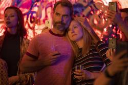 """Murray Bartlett, left, with Laura Linney, right, in """"Tales of the City."""""""