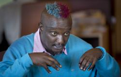 Prize-winning Kenyan author Binyavanga Wainaina