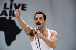 """Rami Malek in a scene from """"Bohemian Rhapsody."""""""