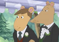 "A scene from PBS's ""Arthur."""