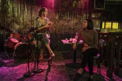 "Melissa Barrera, left, and Mishel Prada from the series ""Vida."""
